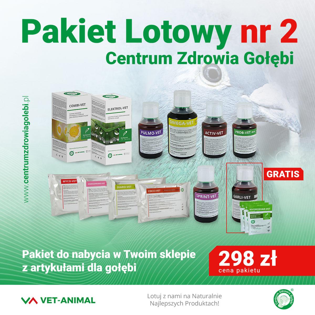 Centrum Zdrowia Golebi Pakiet Lotowy Nr 2 11 2 Gratisy I Mojgolab Pl